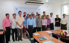 The Lao Elephant Care and Management project team