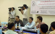 ElefantAsia press conference at the Lao Journalists Association in Vientiane